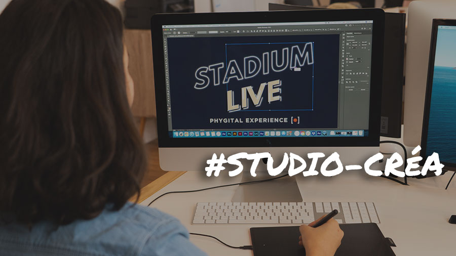 Créa Graphique et sites web - Stadium Live